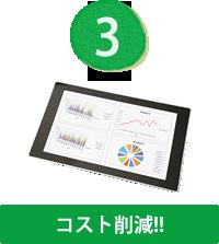3.コスト削減!!